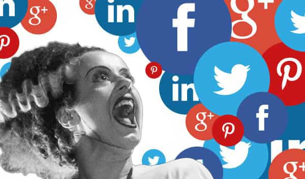social media marketing bride of frankenstein