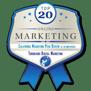 california marketing peers award